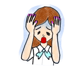 Office lady Keiko sticker #11712924