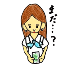 Office lady Keiko sticker #11712930