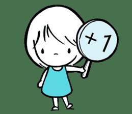 My life as a Breeze Girl sticker #11713201
