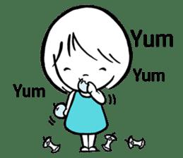 My life as a Breeze Girl sticker #11713214