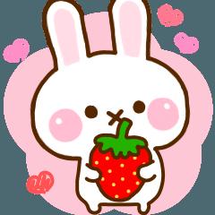 Rabbit Strawberry Honorific Yuru