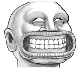 Father of the skin head (For overseas) sticker #11729372