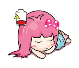 Bunny Sweet Girl + sticker #11732225