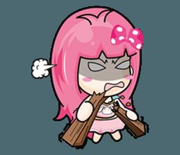 Bunny Sweet Girl + sticker #11732243