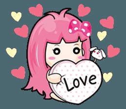 Bunny Sweet Girl + sticker #11732254