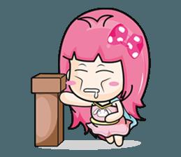 Bunny Sweet Girl + sticker #11732255