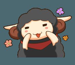Little black sheep + sticker #11732864