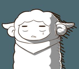 Little black sheep + sticker #11732869