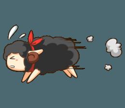 Little black sheep + sticker #11732877