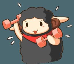 Little black sheep + sticker #11732894