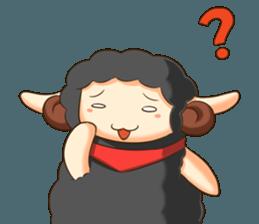 Little black sheep + sticker #11732898