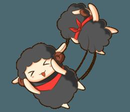 Little black sheep + sticker #11732899