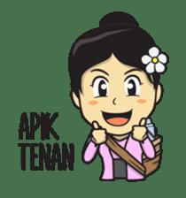 Mbak Ayu (Javanese) sticker #11735513