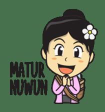 Mbak Ayu (Javanese) sticker #11735516