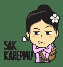 Mbak Ayu (Javanese) sticker #11735518