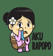 Mbak Ayu (Javanese) sticker #11735523