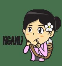 Mbak Ayu (Javanese) sticker #11735524