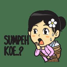 Mbak Ayu (Javanese) sticker #11735527