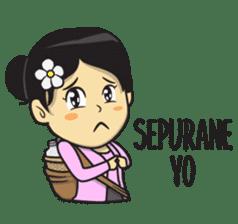 Mbak Ayu (Javanese) sticker #11735534