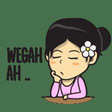 Mbak Ayu (Javanese) sticker #11735536