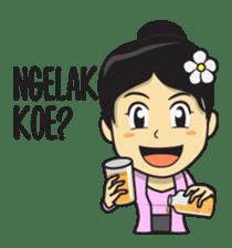 Mbak Ayu (Javanese) sticker #11735541