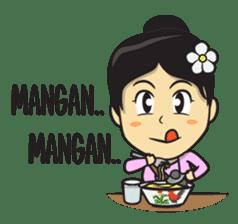 Mbak Ayu (Javanese) sticker #11735543