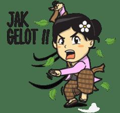 Mbak Ayu (Javanese) sticker #11735544