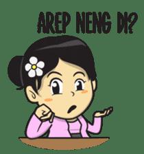 Mbak Ayu (Javanese) sticker #11735547