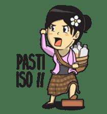 Mbak Ayu (Javanese) sticker #11735548