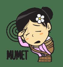 Mbak Ayu (Javanese) sticker #11735550