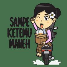 Mbak Ayu (Javanese) sticker #11735551