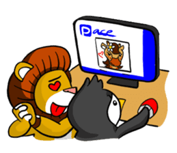 Pipo and friends sticker #11737005