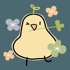 Birds in the happy days 2