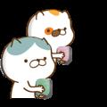 Cat animated sticker
