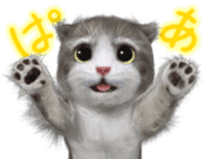 Animation Mofu Kitten Mofuu sticker #11754280