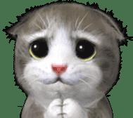 Animation Mofu Kitten Mofuu sticker #11754281