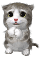 Animation Mofu Kitten Mofuu sticker #11754289