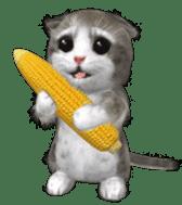 Animation Mofu Kitten Mofuu sticker #11754297