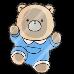 Cute bear and rabbit 8 by Torataro