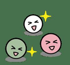 Animated Mochi & Dango Stickers sticker #11755174