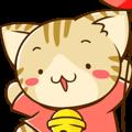SUZU-NYAN Animation sticker