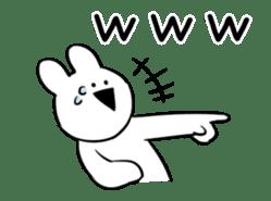 Extremely Rabbit Animated sticker #11760010