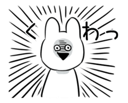 Extremely Rabbit Animated sticker #11760030