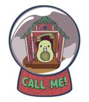 Moving Snow Globe English Ver.2 sticker #11760268