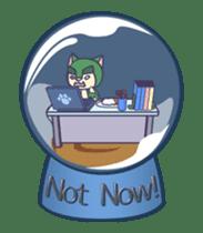Moving Snow Globe English Ver.2 sticker #11760271