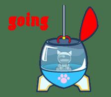 Moving Snow Globe English Ver.2 sticker #11760277