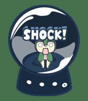 Moving Snow Globe English Ver.2 sticker #11760280