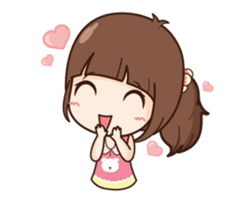 Milin so cute + sticker #11761901