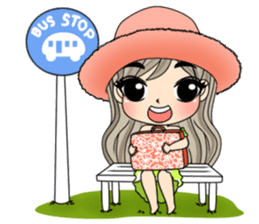 Unna mini girl and friends sticker #11763204