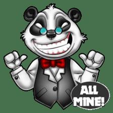 Introducing Boss Panda (Revised) sticker #11763784